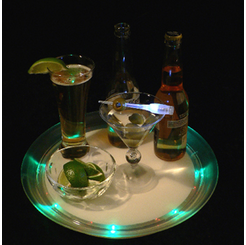 Super Lighted LED Serving Tray