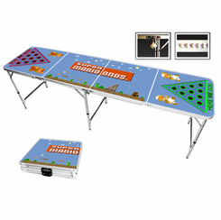 Super Mario Themed Beer Pong Table