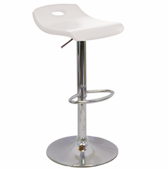 Surf Barstool White BS-SURF-WD-W