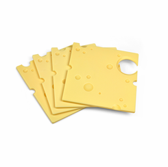 Swiss Cheese Appetizer Plate