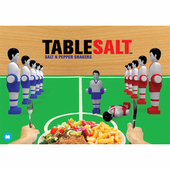 Table Foosballers Salt and Pepper Shaker