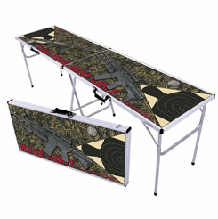 Take Your Best Shot Gun Beer Pong Table