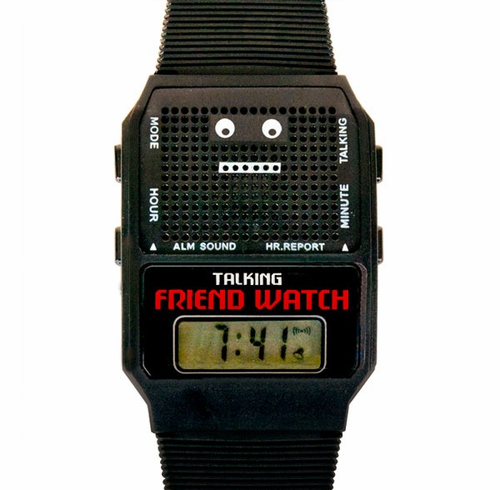 Talking Friend Watch - Click to enlarge