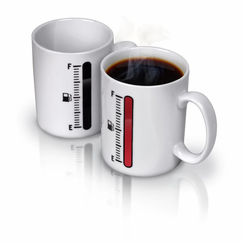 tank up heat color changing coffee mug