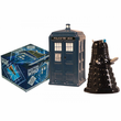 TARDIS vs Dalek Salt and Pepper Shaker