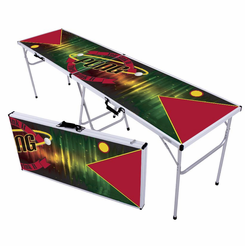 Techno Ribbon Beer Pong Table