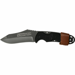 Terminator Salvation 8 inch Fixed Blade Gray w Tin Box