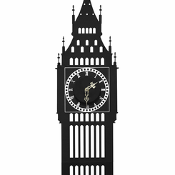 The Big Ben Clock Wall Sticker