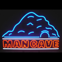 The Man Cave Neon Sign