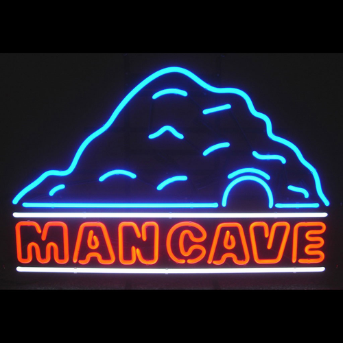 The Man Cave Neon Sign - Click to enlarge