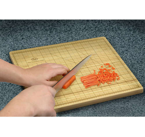 OCD Chef Cutting Board Ruler Measurements - Click to enlarge