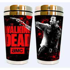 Walking Dead-Rick 16oz Travel Mug