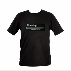 Thinking Meter Light Up LED Shirt