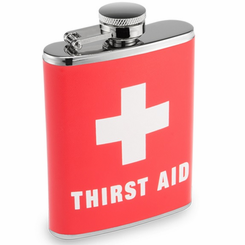 Thirst Aid Drinking Flask