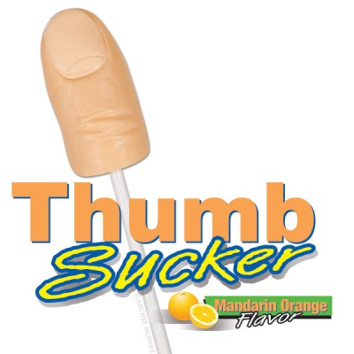 Thumb Sucker Lollipop - Click to enlarge