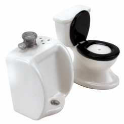 The Toilet Salt And Pepper Shaker Set