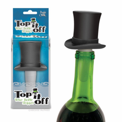 Top It Off Wine Bottle Stopper