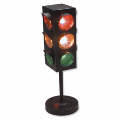 Traffic Light Table Lamp