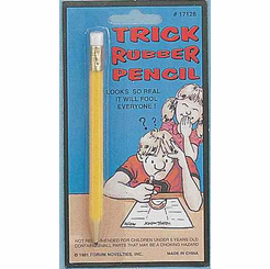Trick Rubber Pencil