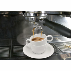 two handle demitasse espresso cup
