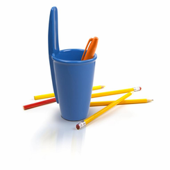Uncapped Cup Desk Pen Holder
