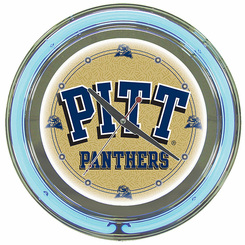 University of Pittsburgh Neon Clock