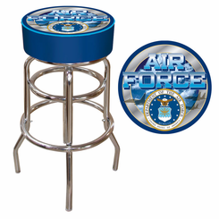 US Air Force Padded Bar Stool