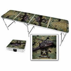 US Army Blackhawk Beer Pong Table