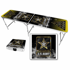 Us Army Themed Beer Pong Table