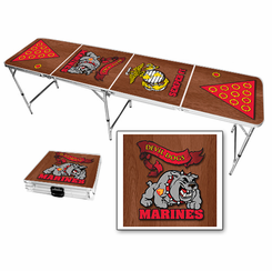 US Marines USMC Devil Dogs Beer Pong Table