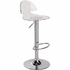 Venti Acrylic Barstool Clear BS-TW-VENTI-CL