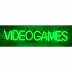 Video Game Neon Sign
