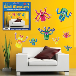 Wall Monsters Vinyl Wall Decals
