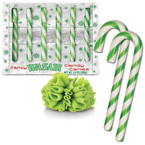 Wasabi Candy Canes put a spice back in your holid # Wasbak Geur_200851