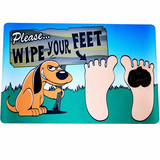 Watch Your Step 3D Poop Door Mat