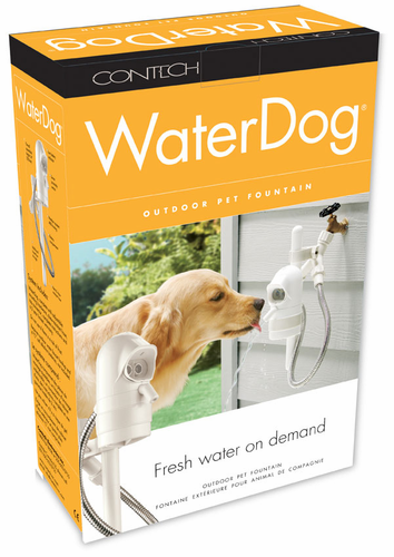 Water Dog Automatic Outdoor Pet Drinking Fountain - Click to enlarge
