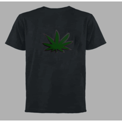 Weed Light Up LED Shirt