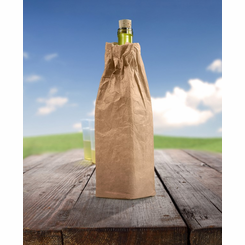 Wine'O Insulated Brown Paper Bag