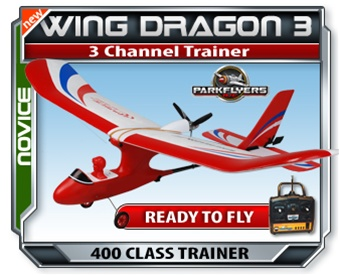 Wing Dragon III RTF RC Plane - Click to enlarge