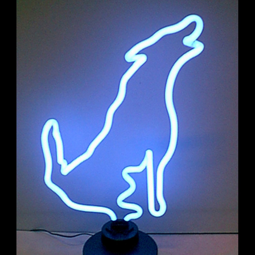 Wolf Neon Sign - Click to enlarge