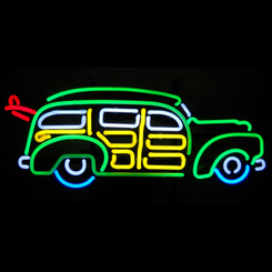Woody Neon Sign