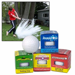 World's Best Joke Golf Balls Gift Set (4)