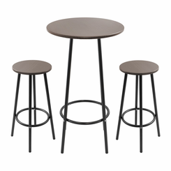 Zella Bar Table Set Espresso B-FT-ZELLA-ESP