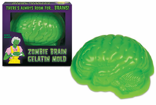Zombie Brain Gelatin Mold - Click to enlarge