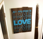 All You Need Is Love - Wall Decals