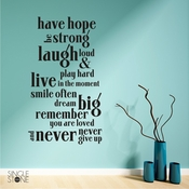 Have Hope - Wall Decals