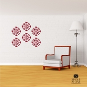 Medallion Wall Pattern - Wall Decals