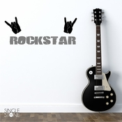 Rock Star - Wall Decals