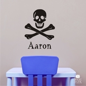Skull And Crossbones - Wall Decals
