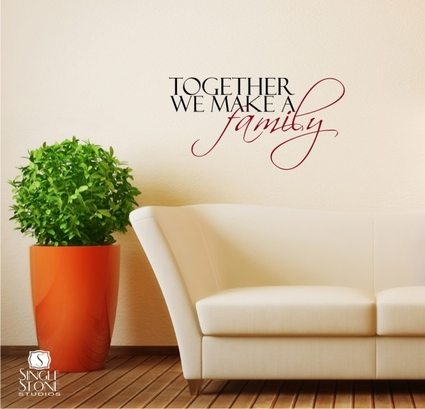 together we make a family wall decals wall decals make this the best wall sticker wall stickers